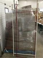 Two pieces of grid racking