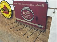 "Sure – tight steel clamps rack 18"" x 12"""