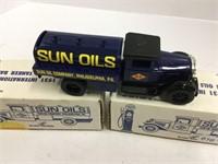 To Sun oils diecast trucks, scale models