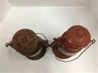 Pair of lanterns