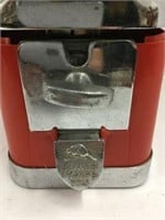 Beaver candy machine - top glass is very loose