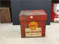 Shell lubrication steel box complete with spark