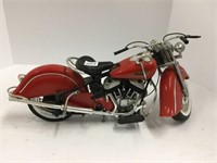 Plastic Indian motorcycle 1:6
