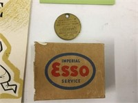 Group of Esso collectibles
