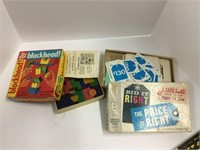 Group of early games and magazines