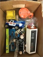 Box of assorted toys etc.