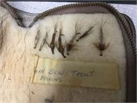 Early fly fishing hooks