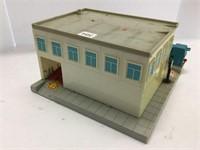 Fina plastic service station