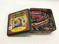 Box of crayons.