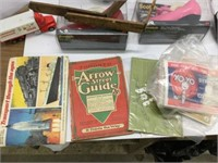 Box of assorted collectables