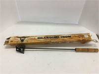 The barbeque ranch branding iron
