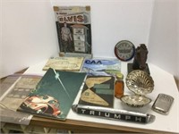 Group of assorted collectables