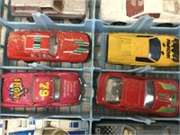Group of assorted toy cars