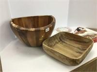 Wooden bowls Rockinghorse etc.