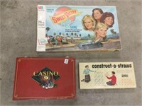 Group of assorted games