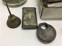 Group of early tools etc.