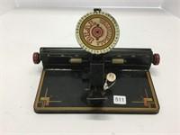 MARX dial typewriter