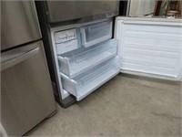 Samsung brushed stainless refrigerator