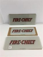 Three fire Dash chief add glasses
