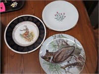 Group of collector plates, etc.