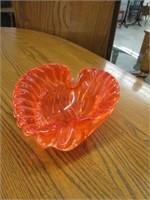3 art glass bowls
