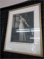Framed Juliet print