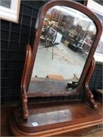 Swivel dresser top mirror