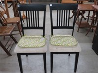 Pair of diner chairs