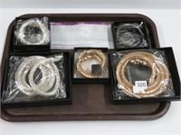 Tray of bracelets