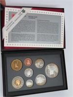 1997 Royal Canadian Mint set