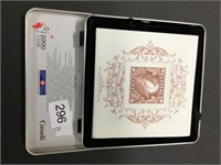 Canada Post official Millenium keepsake stamps &