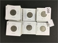 30 - 1920's Canada nickels