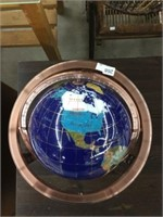 Gemstomes of the world globe