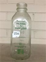 Hewitt's Dairy milk bottle