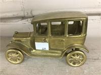 Cast & brass cars