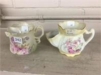 Nippon & Old Folley shaving mugs