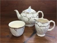 Roayl Art pottery tea set