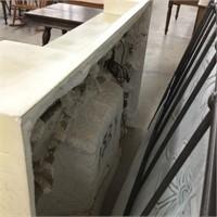 Ceramic fireplace unit