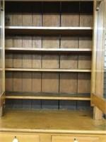 Early flat to wall cupboard