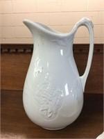 Wash bowl, pitcher & chamber pots