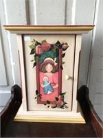 Painted decorative cabinet