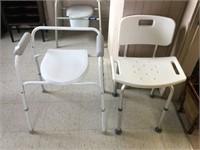 Invalid chair & tub chair