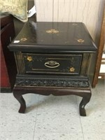 Decorative stand with drawer