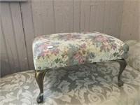 Hall seat & foot stool