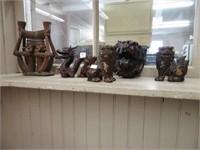 5 Oriental ornaments