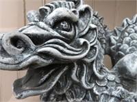 Cement dragon