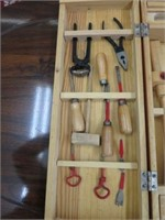 Child's tool set with case