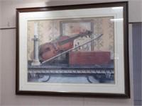 Aemie Fisk framed print