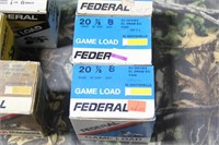 Lot of Mixed Federal .20g Shotgun Shells