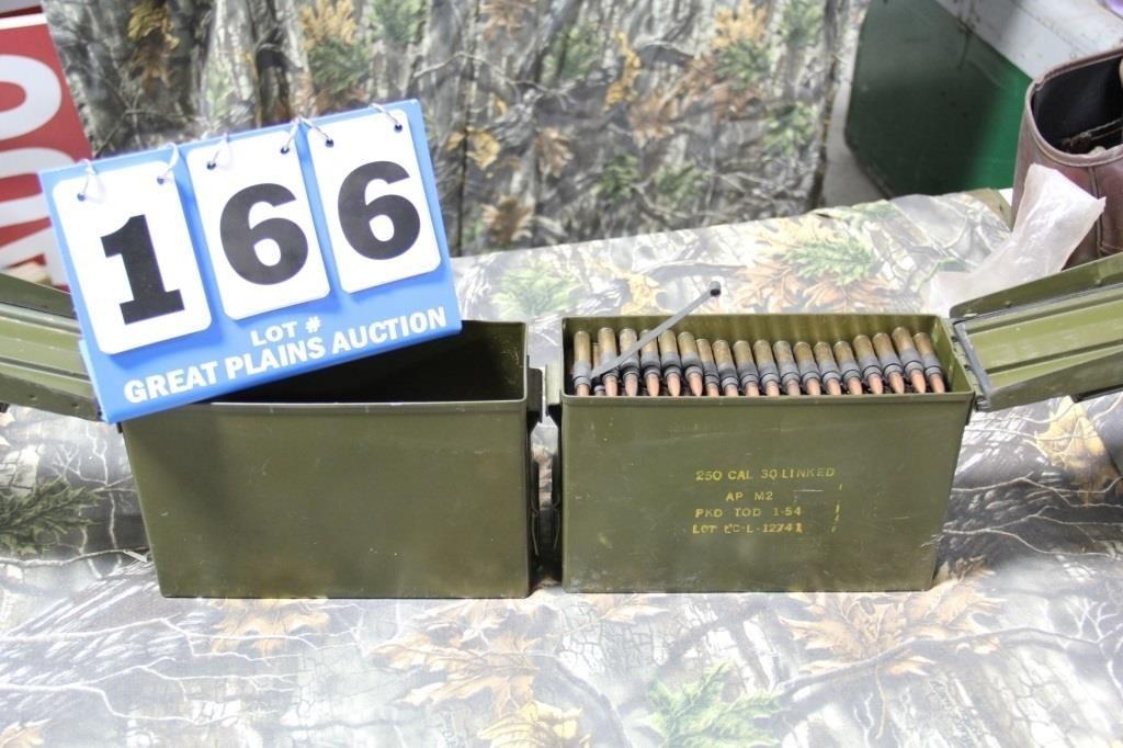 250 Rounds US Military  30 Cal  Linked Ammunition | United